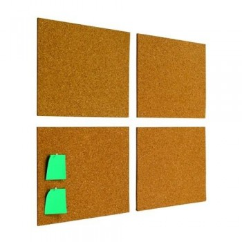 CORCHO AUTOADHESIVO 30X45 CM. NATURAL PACK 4 UN. BASIC PLANNING SISPLAMO
