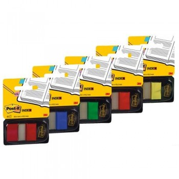 INDEX POST-IT  MEDIANO AMARILLO DISPENSADOR 50 UNIDADES 680