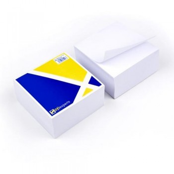 Taco papel blanco 10x10x5cm Ofiexperts