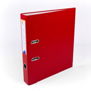 Archivador folio 55mm rojo Ofiexperts