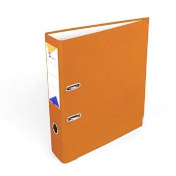 Archivador folio 75mm naranja Ofiexperts