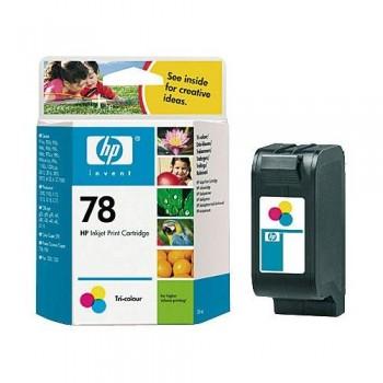 HP CARTUCHO TINTA C6578D N?78 TRICOLOR