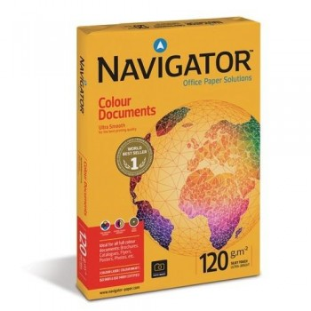 PAPEL A4 120 GR. 250 HOJAS BLANCO NAVIGATOR COLOUR DOCUMENTS