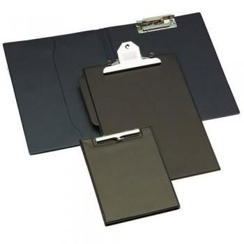 Soporte con pinza jumbo PVC negro Grafoplas