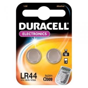 PILAS APARATOS ELECTRÓNICOS LR44 DURACELL