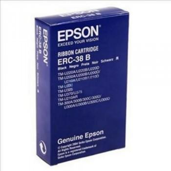 EPSON CINTA C43S015376 NEGRO / ROJO