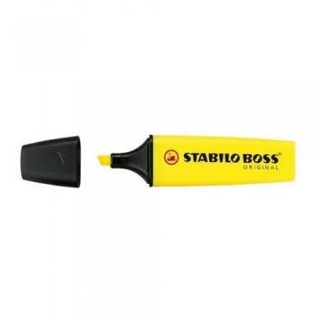 Rotulador fluorescente amarillo STABILO BOSS ORIGINAL