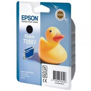 EPSON CARTUCHO TINTA T0551 NEGRO