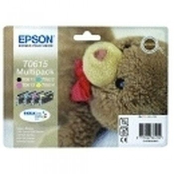 EPSON CARTUCHO TINTA T0615 BK/C/M/Y