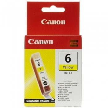 CANON CARTUCHO TINTA 4708A002 BCI-6Y AMARILLO