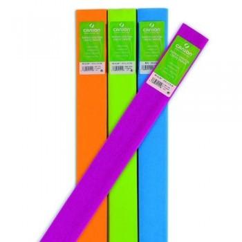 Papel crepé 0,5 x 2,5m 40 gr. rollo verde helecho Canson