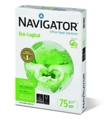 A4 75 GR BL ECO-LOGICAL NAVIGATOR 500 HOJAS