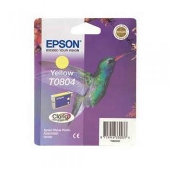 EPSON CARTUCHO TINTA C13T08044011 Nº T0804 AMARILLO