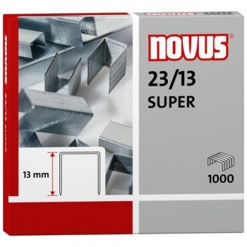 Grapas NOVUS 23/13 S de 1000 (Endurecida)