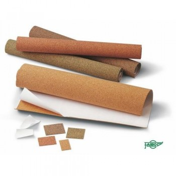 Corcho adhesivo para manualidades rollo 1000x450x1,2 mm Color pigmentado verde Faibo