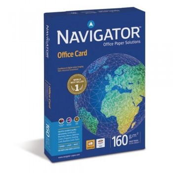 Papel A4 160 gr 250 hojas blanco Navigator Office Card