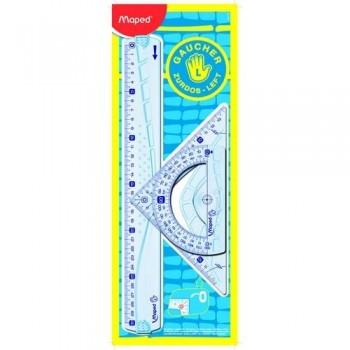 Reglas Kit para zurdos (3 piezas) Maped