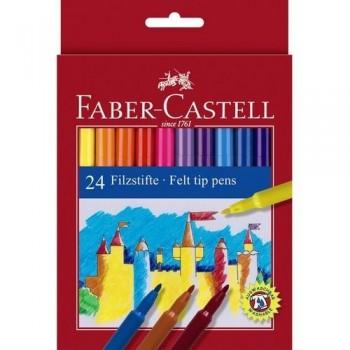 Rotulador punta estándar 24 un. Faber Castell