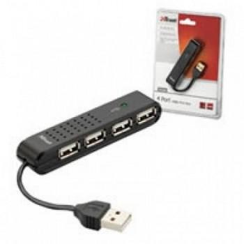 HUB 4 PUERTOS USB 2.0 TRUST