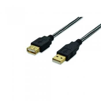 CABLE PROLONGACIÓN USB 2.0 M-F 1.8MT EDN