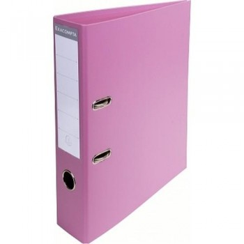 ARCHIVADOR A4 70MM PVC PREMTOUCH ROSA COLORES PASTEL EXACOMPTA