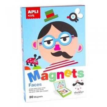 Juego magnético Caras Apli
