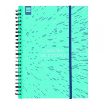Cuaderno-Agenda Docente espiral 230x310mm catalán Finocam