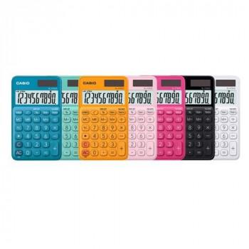 Calculadora bolsillo 10 dígitos naranja Casio SL310UC-WE