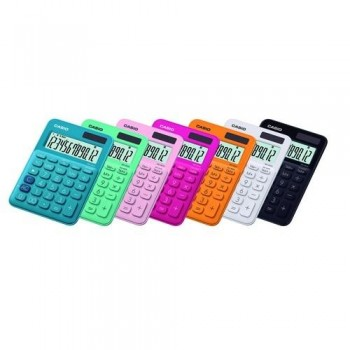 Calculadora sobremesa 12 dígitos MS-20UC Casio fucsia