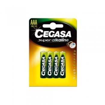 Pila alcalina LR03-AAA bilster 4u Cegasa