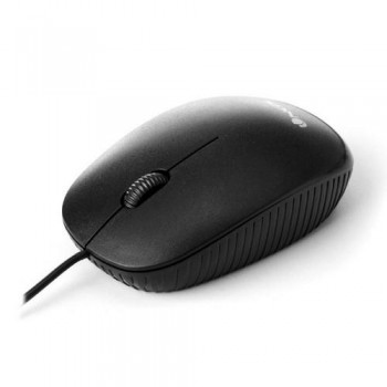 Ratón óptico con cable NGS negro
