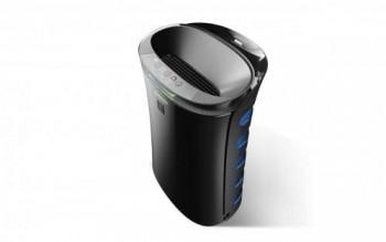 Sharp UA-PM50E-B purificador de aire 40 m  51 dB Negro 51 W